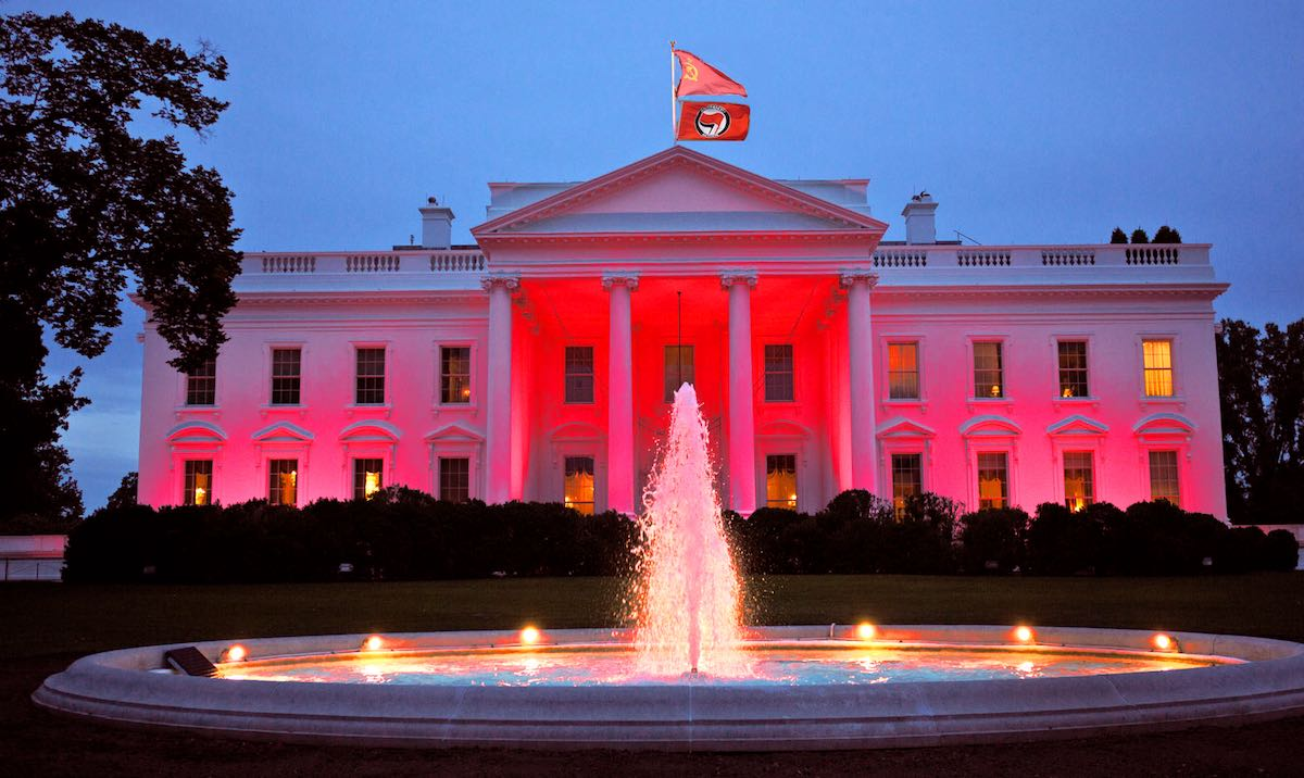 Red White House